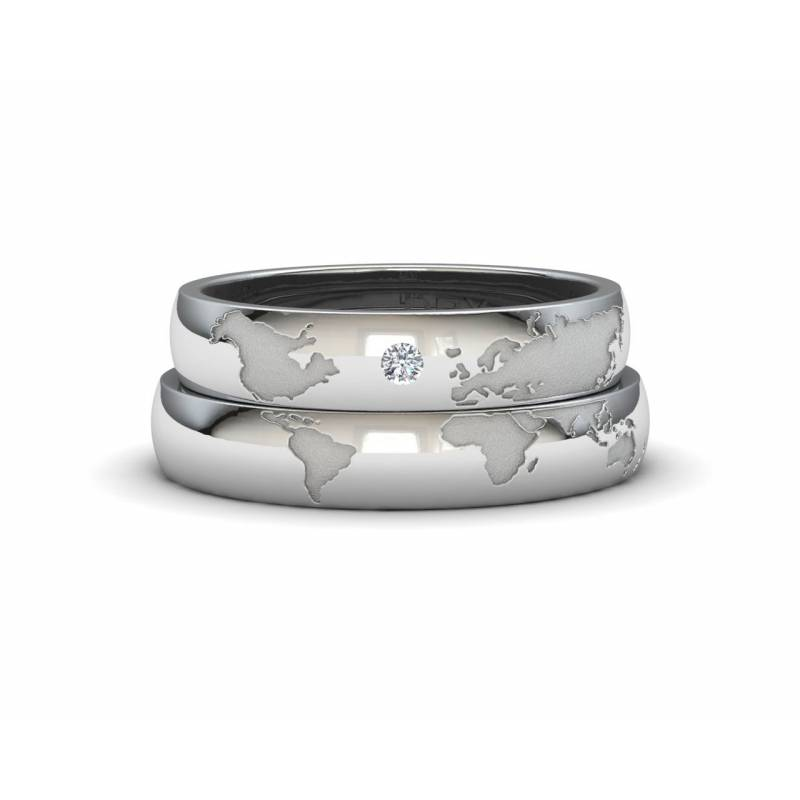 Alianzas de Mapamundi de Plata con un diamante