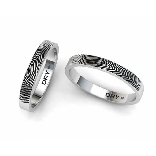 Alianzas huella dactilar plata
