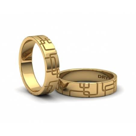 Alianzas De boda de Oro