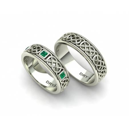 Alianzas celtas con esmeraldas