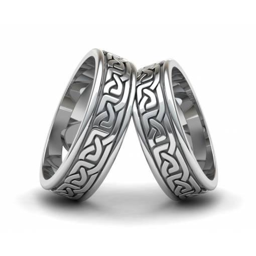 Anillos de estilo celta en plata