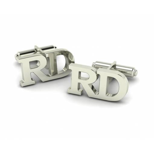 Gemelos con iniciales RD