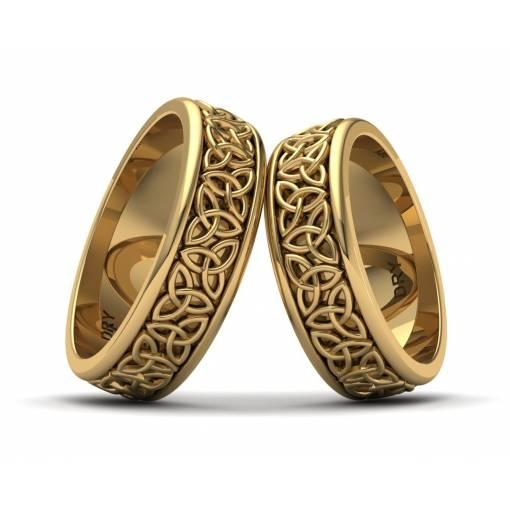 Alianzas triqueta oro