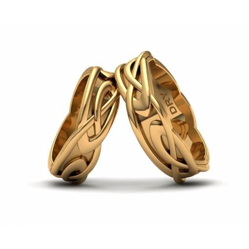 Anillos nudos Celtas Oro Amarillo 6mm