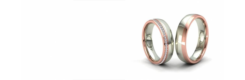 Stunning diamond wedding rings collection.