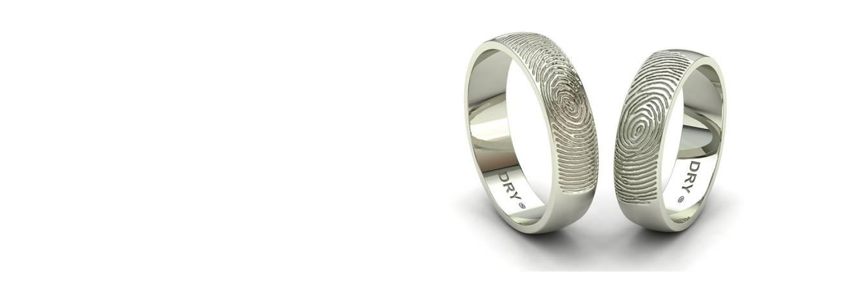 Fingerprints Wedding Rings