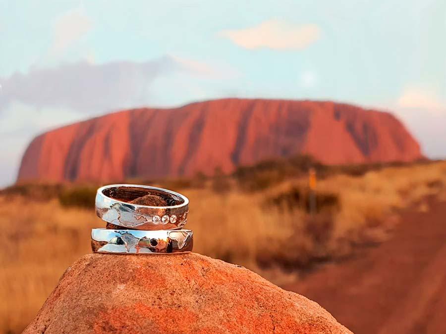 Alianzas Mapamundi en Ayers Rock Australia