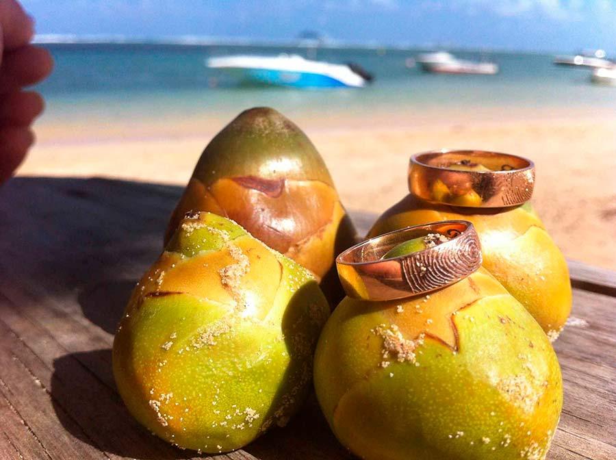 Alianzas huella dactilar en Islas Mauricio